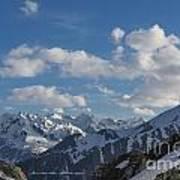 Swiss Alps Art Print