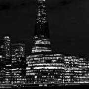 The Shard And Southbank London Art Print