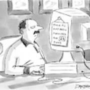 New Yorker June 27th, 2005 Art Print