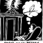 Edgar Allen Prozac Art Print
