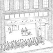 New Yorker February 13th, 2006 Art Print