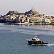 Views From Corfu Greece Art Print