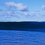 Waves Splashing In The Sea Art Print