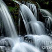 West Virginia Waterfall  Art Print