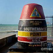 90 Miles To Cuba Art Print