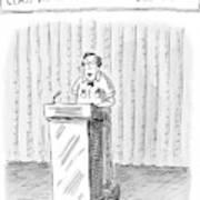 Rodney Krebs: Class Valedictorian Or G.p.a. Whore? Art Print