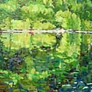 911-sherborne Lake Art Print