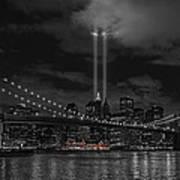 911 Tribute Lights Art Print