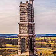 91st Pennsylvania Infantry Monument Art Print