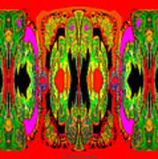 922 - A Psychedelic View ... Art Print
