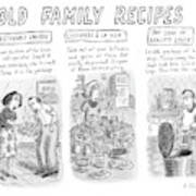 New Yorker June 25th, 2007 Art Print