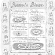 Doreen's Diner Art Print