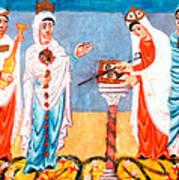 9th Century Artwork Art Print