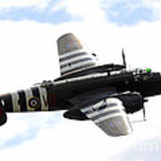 A B-25 Mitchell Performs At The Arctic Art Print