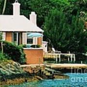A Cottage In Bermuda # 1 Art Print