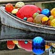 A Boat Full Of Color Art Print
