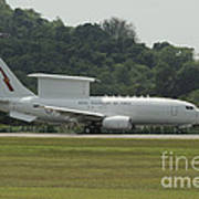 A Boeing E-7a Wedgetail Of The Royal Art Print