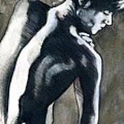A Boy Named Shadow Art Print