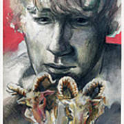 A Boy Named Stubborn Art Print