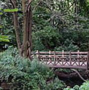 A Bridge In Central Park Art Print