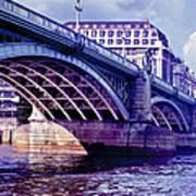 A Bridge In London Art Print