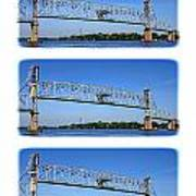 A Bridge Opening Art Print