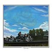A Brother's Last Ride Art Print