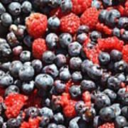 A Bunch Of Berries Art Print