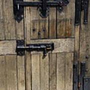 A Cahir Castle Door Art Print