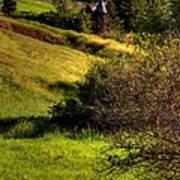 A Castle In The Landscape Art Print
