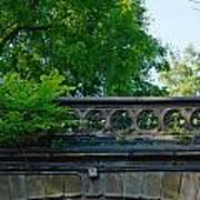 A Central Park Bridge Art Print