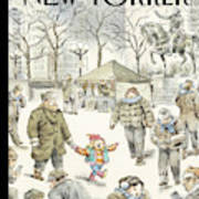 Winter Delight Art Print