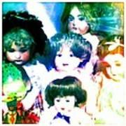 A Chorus Of Dolls - Toy Dreams 4 Art Print