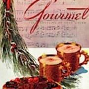 A Christmas Gourmet Cover Art Print