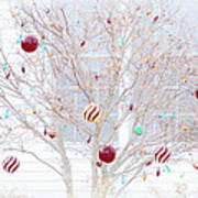 A Christmas Tree Art Print
