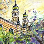 A Church In Budapest 01 Art Print
