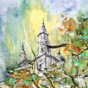A Church In Budapest 02 Art Print