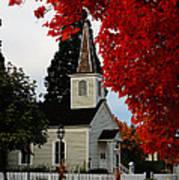 A Church In Historic Jacksonville Art Print