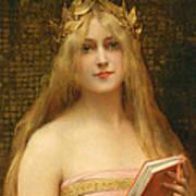 A Classical Beauty Art Print