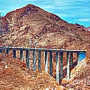 A Closer Look At Pat Tillman Bridge Art Print