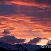 A Colorado Sunrise Art Print