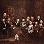A Committee Of The House Of Commons Art Print