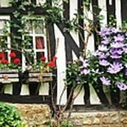 A Cottage In Normandy Art Print