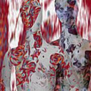 A Couple Print by Jack Zulli