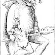 A Court Fool, 1552 Art Print