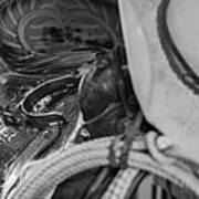 A Cowboy's Gear Art Print