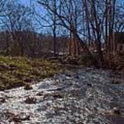 A Creek Runs Though It Art Print
