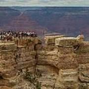 A Crowd And A Canyon Art Print