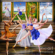 A Dance For All Seasons Print by Reggie Duffie