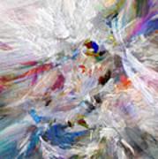 A Dance With Paint Art Print